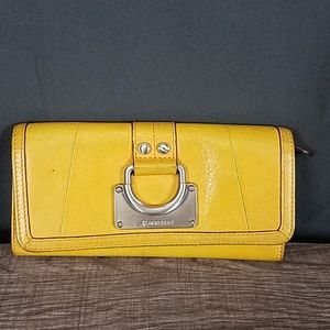 3 for $10- Yellow mustard wallet